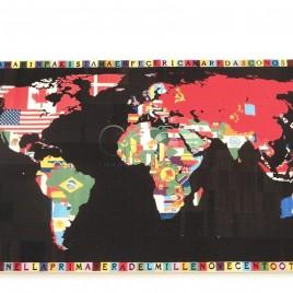 Mapa Mundi – Velha Ordem Mundial