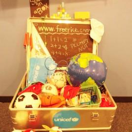Kit da Unicef para Crianças Refugiadas