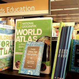 Livros Geográficos em Inglês