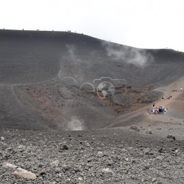 Vulcão Etna – Cratera