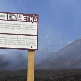 Vulcão Etna – Crateras