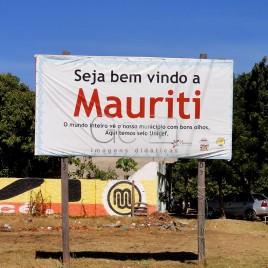 Placa de Boas Vindas – Mauriti (CE)