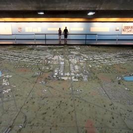 Maquete de Brasília no Museu da Cidade, DF