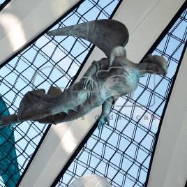 Escultura de Ceschiatti e Croce – DF