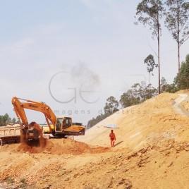 Canteiro de Obras – Santa Bárbara (MG)