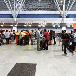 Saguão do Aeroporto Internacional do Recife