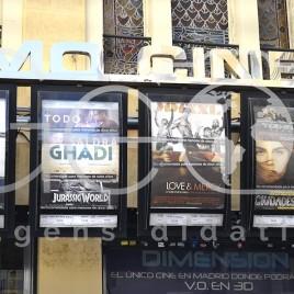 Cartazes em Cinema – Madrid (Espanha)