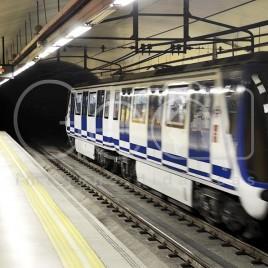 Estação de Metrô – Madrid, Espanha