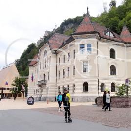 Calçadão em Vaduz