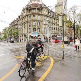 Ciclistas em Berna, Suíça