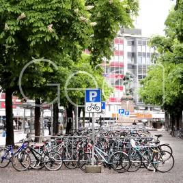 'Estacionamento' de Bicicletas – Berna, Suíça