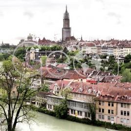 Vista de Berna, Suíça