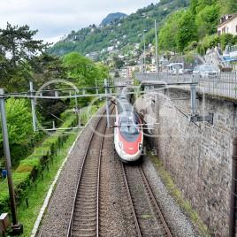 Linha de Trem – Veytaux, Suíça
