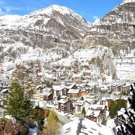 Vista de Zermatt, Suíça