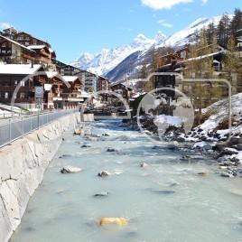 Rio Gornera – Zermatt, Suíça