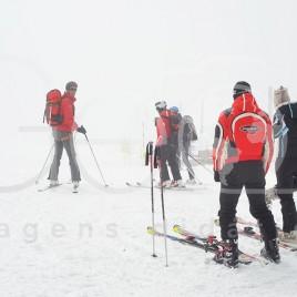 Praticantes de Snowboard – Suíça