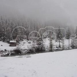 Neve em Zermatt, Suíça