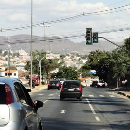 Tráfego de veículos em Belo Horizonte (MG)