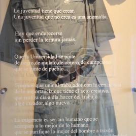Vestimenta usada por Che – Alta Gracia, ARG