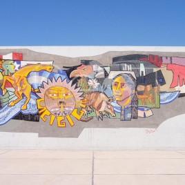 Mural no Parque Central – Mendoza