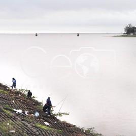Pescadores no Rio Santa Fé – Argentina