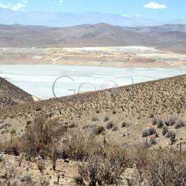 Lago de rejeito de Minérios – Chile