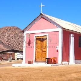 Igreja em Andacollo, Chile