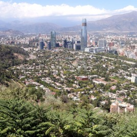 Vista de Santiago – Chile
