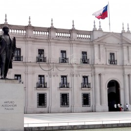 Estátua de Arturo Palma – Santiago, Chile