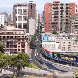 Prédios em Santiago – Chile