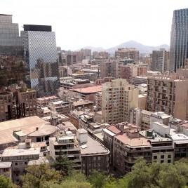 Edificações Novas e Antigas – Santiago