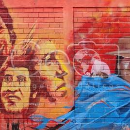 Grafite em homenagem a Victor Jara – Chile