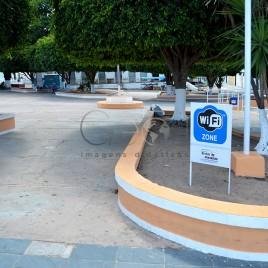 Praça com Wi-Fi – Brotas de Macaúbas, BA
