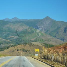 Estrada em Alto Caparaó (MG)