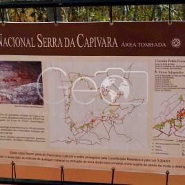 Placa Informativas – Serra da Capivara