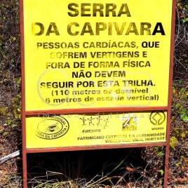 Placa Informativa – Serra da Capivara (PI)