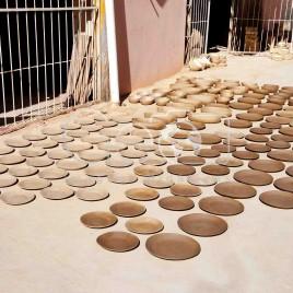 Cerâmica secando ao Sol (PI)