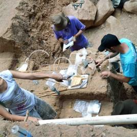 Arqueólogos no PARNA Serra da Capivara (PI)