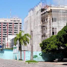 Prédio histórico em reforma – Aracaju