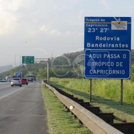 Trópico de Capricórnio – Rod. Bandeirantes (SP)