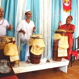Toque dos Atabaques durante Cerimônia (SP)