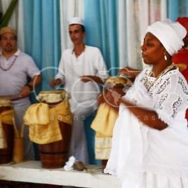Candomblecistas durante Cerimônia (SP)