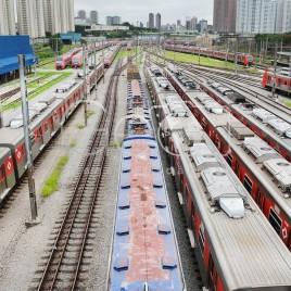 Pátio de Trens em Osasco (SP)