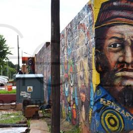 Grafite na Cidade de Soweto, África do Sul