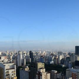Céu claro em São Paulo (seq1)
