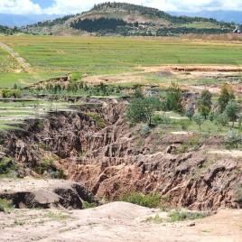 Voçoroca em Butha-Buthe, Lesoto