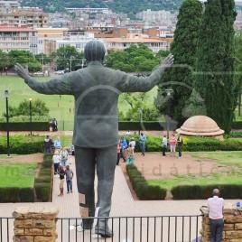 Estátua de Nelson Mandela em Pretória
